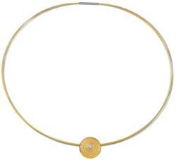 Daniel Bochert: Collier 'Central' mit Perle, Collier, Schmuck