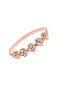 DAVINA Ring rosé vergoldet