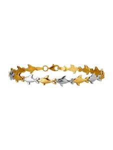 Delfin-Armband Diemer Gold Gelbgoldfarben