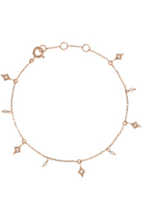 DELICATE CHARMS Armband Topas