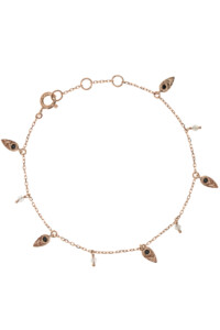 DELICATE LEAVES Armband Spinell