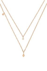 Diamant Halskette Roségold
