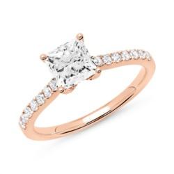 Diamant Ring 750er Roségold