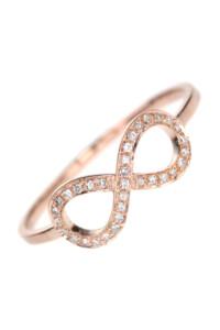 Diamant Ring Roségold INFINITY