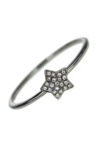 Diamant Ring Weißgold geschwärzt