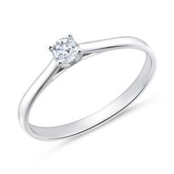 Diamantring aus 585er Weißgold