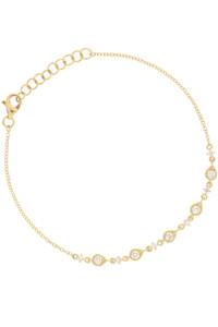DIAMOND Armband 14K Gelbgold