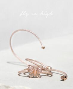 DIAMOND Armband|14K Roségold