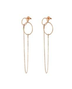 DIAMOND Ear Jackets|14K Roségold