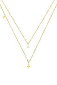 DIAMOND Halskette 14K Gelbgold