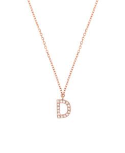 DIAMOND Halskette D|14K Roségold