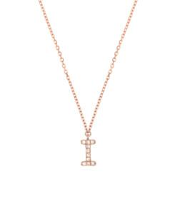 DIAMOND Halskette I|14K Roségold