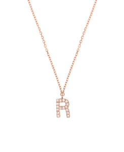 DIAMOND Halskette R|14K Roségold