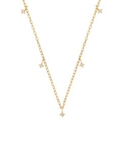 DIAMOND Halskette|10K Gold