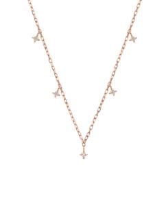 DIAMOND Halskette|10K Roségold