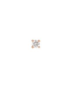 DIAMOND Ohrstecker|Single 14K Roségold