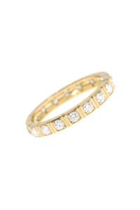 DIAMOND Ring Gelbgold