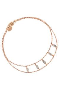 DIAMOND SHADOWS Armband rosé vergoldet