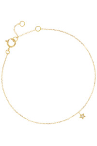 DIAMOND STAR Armband 14K Gelbgold