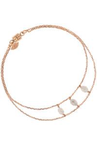 DIAMOND TRINITY Armband rosé vergoldet