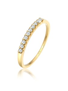 Diamore Ring Microsetting Diamant (0.20 ct.) 375 Gelbgold Diamore Gold