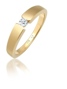 Ring Verlobungsring Diamant (0.10 Ct.) 585 Gelbgold DIAMORE Gold