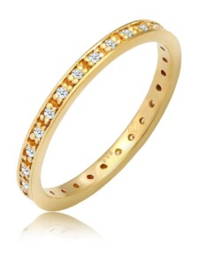 Ring Verlobungsring Diamant (0.33 Ct.) 585 Gelbgold Elli DIAMONDS Gold