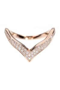 DIANA Roségold Ring Diamanten