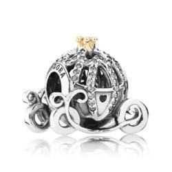 Disney Charm Cinderellas Kutsche aus Sterlingsilber