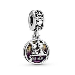 Disney Charm Micky und Minnie aus 925er Silber