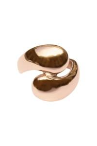 DROPS Edelstahl Ring rosé vergoldet