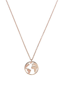 EARTH Halskette rosé vergoldet
