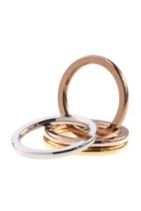 Edelstahl Ring MULTICOLOR SET