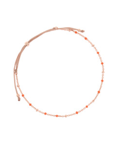 EMAILLE COLORS|Armband Orange