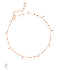 EMAILLE COLORS|Fußband Orange
