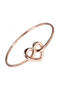 ENDLESS LOVE Ring rosé vergoldet