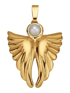 Engel-Anhänger Ursula Christ Weiß