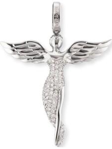 Engelsrufer Damen-Anhänger 925er Silber Zirkonia Engelsrufer Silber
