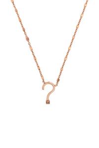 ENIGMA Halskette rosé vergoldet