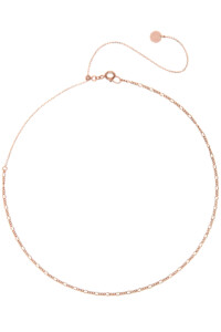 ESSENTIAL Choker rosé vergoldet