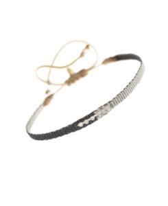 ETHNO|Armband Grau