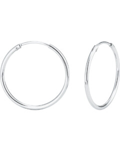 FAVS Ohrringe, Creolen aus 925 Silber, 87772896, EAN: 4056866078161