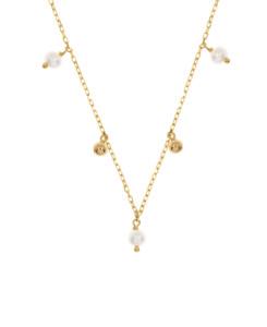 FINE PEARL Halskette|10K Gold