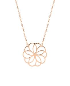 FLOURISH|Halskette Rosé