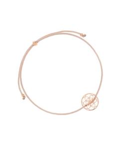 FLOWER OF LIFE|Armband Beige