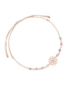 FLOWER OF LIFE|Armband Rosé