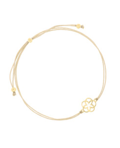 FLOWER OF LIFE|Armband Gold