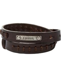 Fossil im SALE Herrenarmband aus Leder, JF87354040, EAN: 4051432552021