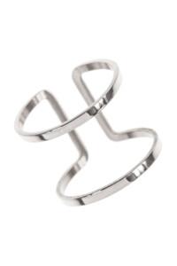 FRAME Edelstahl Layer Ring