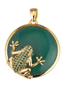 Frosch-Anhänger KLiNGEL Grün